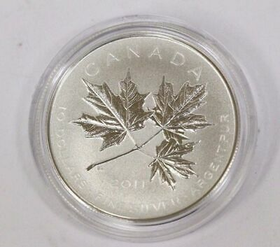 """2011 Royal Canadian Mint $10.00 Fine Silver Coin - """"Maple Leaf Forever"""""""
