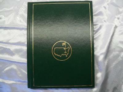 US Masters  1992 Augusta National Golf Club Book Hardcover Annual