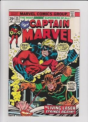 Captain Marvel  35  F/VF                cents issue