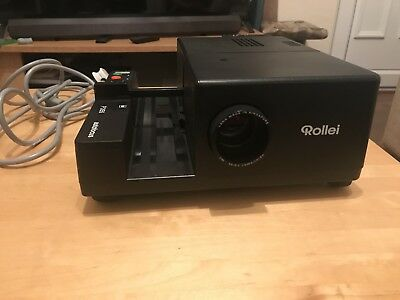 Vintage ROLLEI P355 35mm Slide Projector with Remote Control ORIGINAL BOX