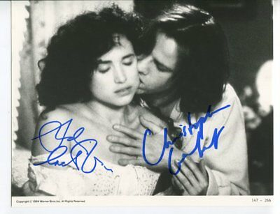 ANDIE MACDOWELL & CHRISTOPHER LAMBERT autograph HAND SIGNED 5530
