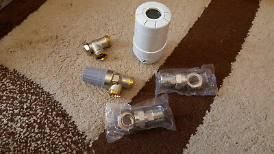 DANFOSS Living Connect 014G0013 Z-Wave PROGRAMMABLE TRV BODY & LOCKSHIELD
