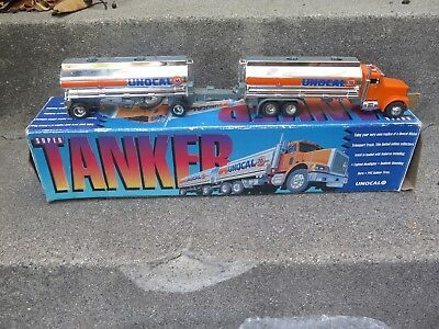 """Super Tanker"" Unocal 76 Gas Oil Limited Edition Collectors Toy Truck NOS"