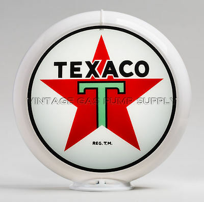 "Texaco Star 13.5"" Gas Pump Globe (G192)"