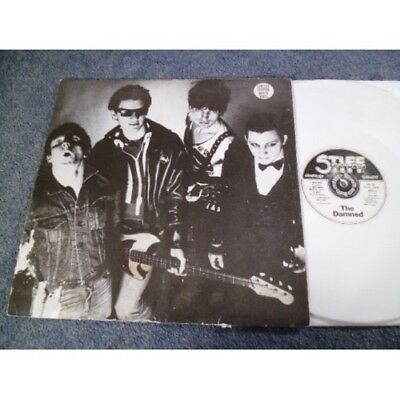 "The Damned New Rose Very Rare 12"" White Vinyl Punk 1986 Stiff Records"