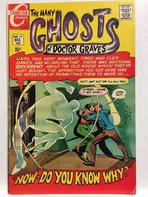 Many Ghosts Of Doctor Graves # 17 VF- 7.5 Ditko Charlton Comics Free Postage