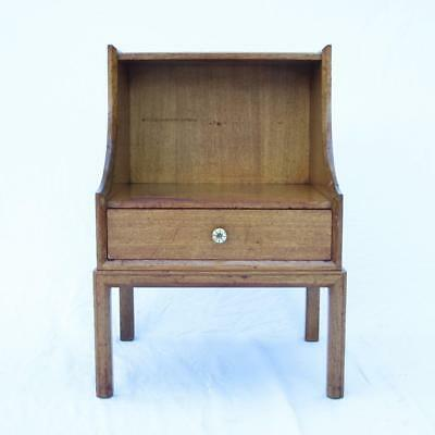 Tommi Parzinger for Charak Modern Single Drawer Night Stand 1950s Rare