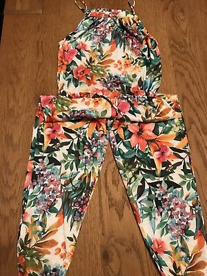 Zara Girls All Over Print Jumpsuit Age 6