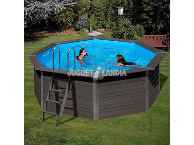 Piscina Madera Gre Composite Pool 410x124 cm.