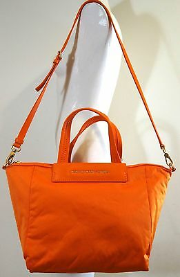 Marc by Marc Jacobs Jewel Of The Nylon Zip Top Saffron Satchel Bag