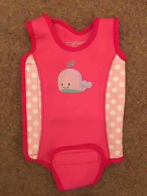 MOTHERCARE Baby Girl Wetsuit Wrap 6-12 Months