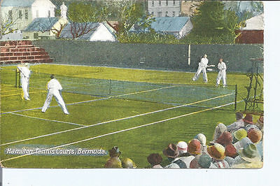 Original vtg Bermuda pc Hamilton Tennis Courts