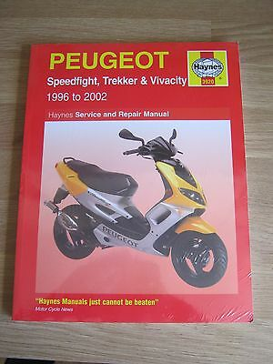 1996-2002 Peugeot Speedflight Trekker Vivacity Haynes manual New and Sealed