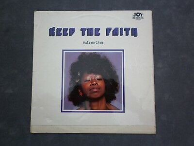 Keep The Faith Vol. 1 Various Northern Soul LP