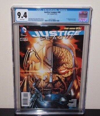 Justice League #40 CGC 9.4 White Pages 1st App Grail   Darkseid's Daughter
