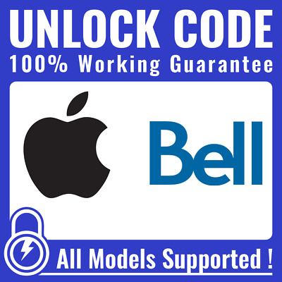 Bell / Virgin iPhone ALL MODELS CLEAN Unlock Service [3 BUSINESS DAYS]