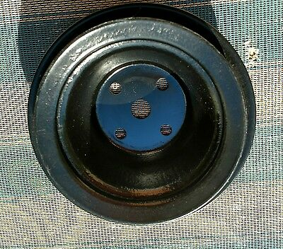 Chevrolet Chevy WATER PUMP Pulley 351680AA, 2 groove