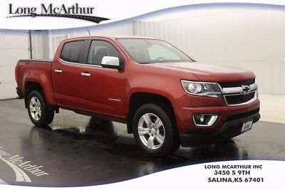 2016 Chevrolet Colorado LT 4WD CREW CAB 6 SPEED AUTOMATIC TRUCK EXTERIOR PARKING REAR CAMERA LEATHER APPOINTED SEAT TRIM SIRIUS SATELLITE ONSTAR