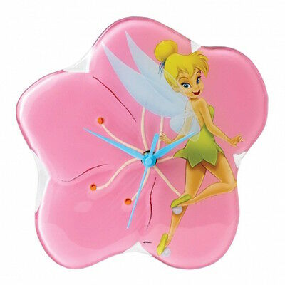 Disney Enchanted Collection A25233 Tinker Bell Clock New And Boxed