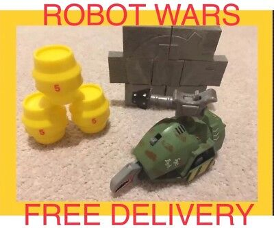 BBC Robot Wars: SGT BASH Pull back And Go Toy Collectable Figure Gift