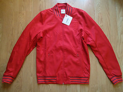 England Anthem Jacket Red Small  Bnwt Rrp £64.99