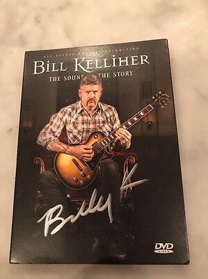 "BILL KELLIHER ""The Sound And The Story"" Signed Guitar Instructional DVD new"
