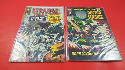Bundle of 2 Comics Books - Strange Tales Vol 1 #147-163 1966-67