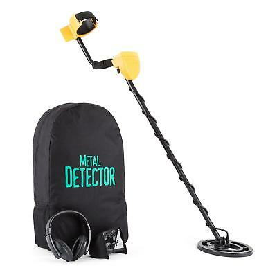 Metal Detector Waterproof Coil 8 Snisitivity Level 5 Modes Pinpoint Light Weight