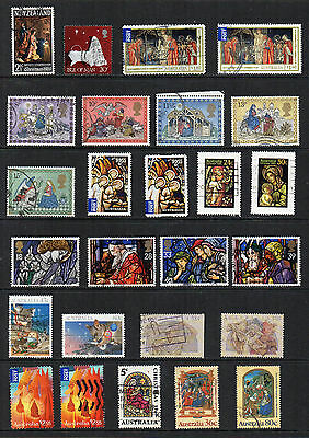 THEMATIC - CHRISTMAS - 35+ different stamps - Lot 4