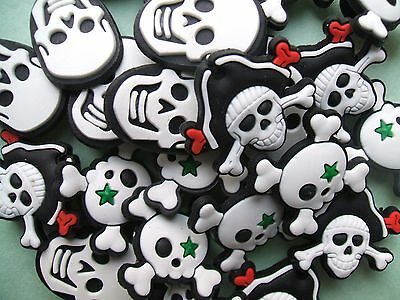 SHOE CHARMS (B9) - inspired by SKULLS & PIRATES