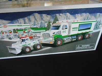 Hess Toy Truck and Front Loader 2008