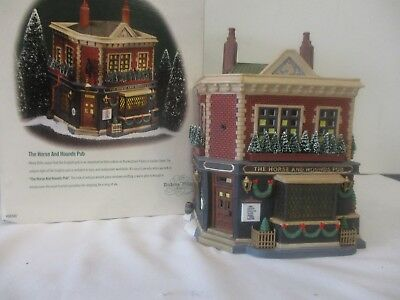 Dept.56 Heritage Village Collection DICKENS VILLAGE ~ The Horse & Hounds Pub