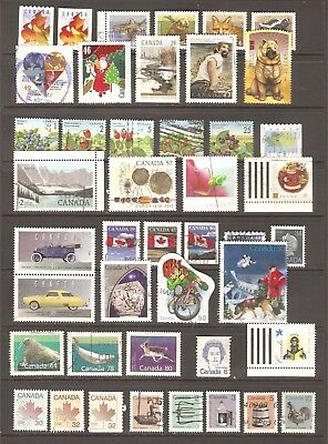 Canada - 44 used stamps