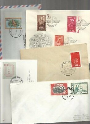 World modern covers/postal history clearance lot 1