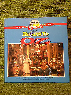 Walt Disney - Return To Oz - St Michael Film Favourites - 1985 Hb 1St Edn - Vg