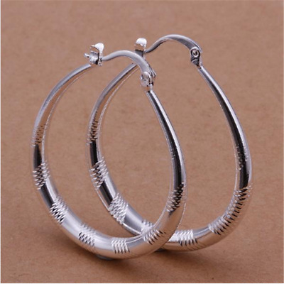 New  Ladys fashion Jewelry gifts 925Silver Earrings QS2662
