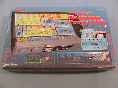 Unopened Radio Shack Science Fair Electronics Lab 200 in One Project Lab 28-265