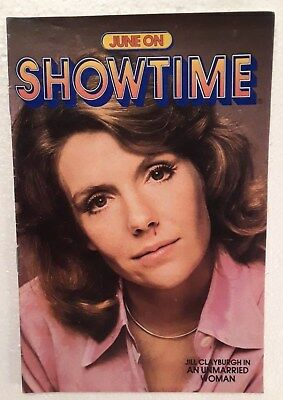 "Vintage SHOWTIME Cable Guide. June 1979. Jill Clayburgh. ""An Unmarried Woman""."