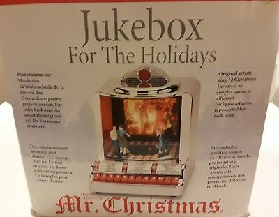 Mr Christmas Jukebox For The Holidays Christmas Decoration with Music & Motion