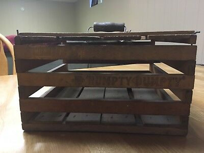 Humpty Dumpty from a Michigan mfg.Co vintage egg crate