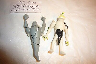 Ben 10 Alien Ghost Freak & Rip Jaws Creation Chamber Toy Action Figures