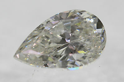 Certified 1.15 F SI1 Pear Enhanced Natural Diamond For Ring 8.52x5.38mm VG VG