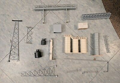 N Scale parts of paper mill