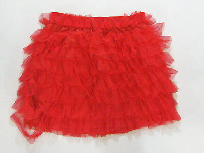 Gap Kids Girls Size 8 Red Tulle Tutu Skirt Play Condition