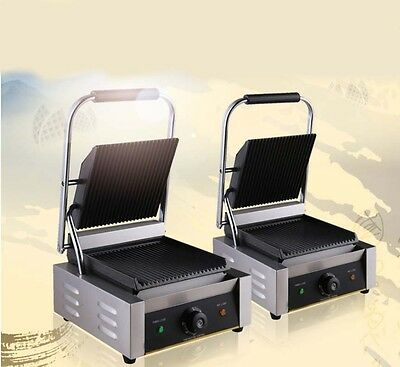 New Commercial Stainless Steel Thickened Hot Plate Pressplate Electric Grill *