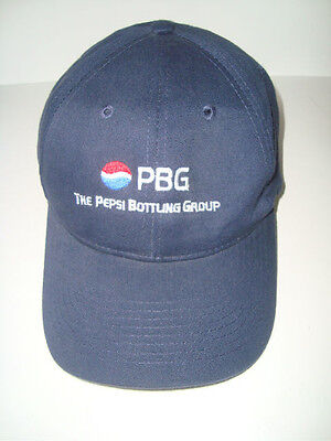 Otto PBG Logo PEPSI BOTTLING GROUP Fantastic Ball Cap Hat
