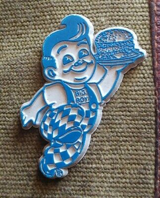 Vintage classic Bob's Big Boy fridge rubber magnet