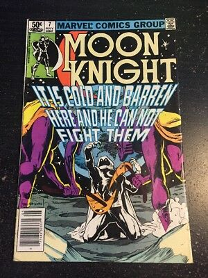Moon Knight#7 Incredible Condition 8.5(1981) Sienkiewicz Art!!