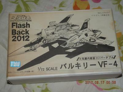 Musasiya 1/72  Macross Robotech Valkyrie Vf-4 Flash Black2012 Original Resin Kit