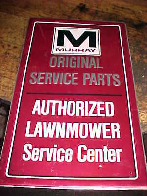Vintage MURRAY Lawnmower Parts original Service Center Sign